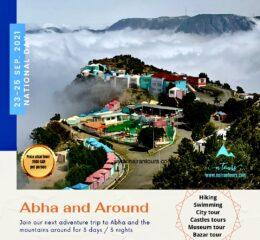 Abha National day trip 23-25 Sep. 2021