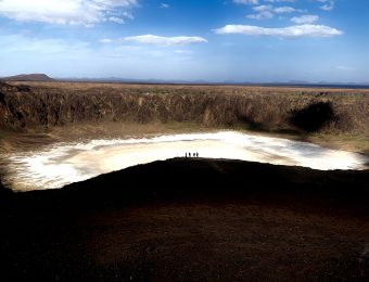 Waba crater camping trip