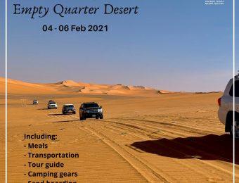 Empty Quarter desert trip (4-6 Fe. 2021)